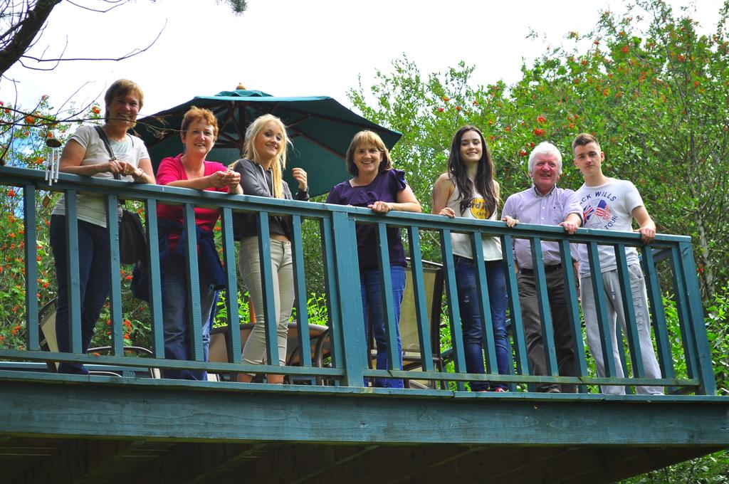 My O'Riordan Cousins, Therese and Alice with Families Aug 2013
